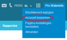 Account bewerken
